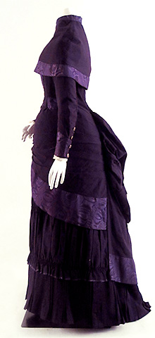 Wool Afternoon Ensemble, English ca. 1883