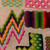 Berlin Wool Work Sampler